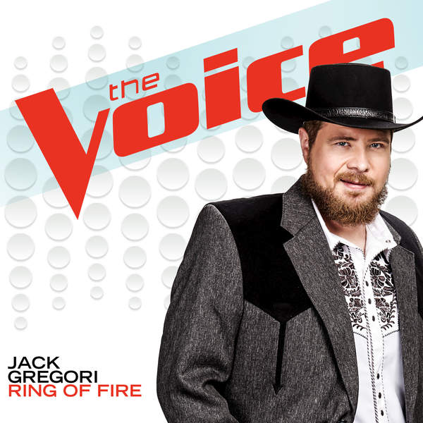 Jack Gregori - The Voice - Ring of Fire